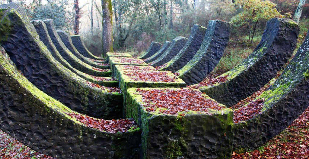 Chianti sculpture park Toscana Siena art