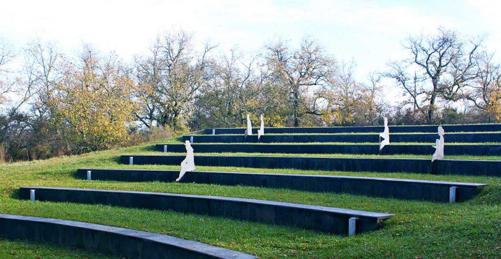 installazione chiantisculpturepark art tuscany