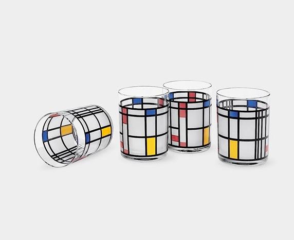 Bicchieri Mondrian