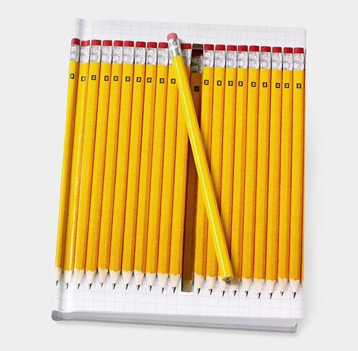 Notebook Hidden Pencil